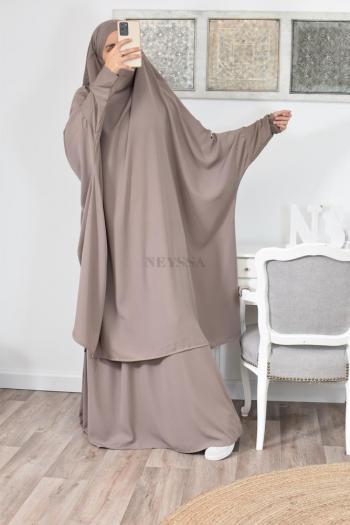 Jilbab 2 pièces pas cher