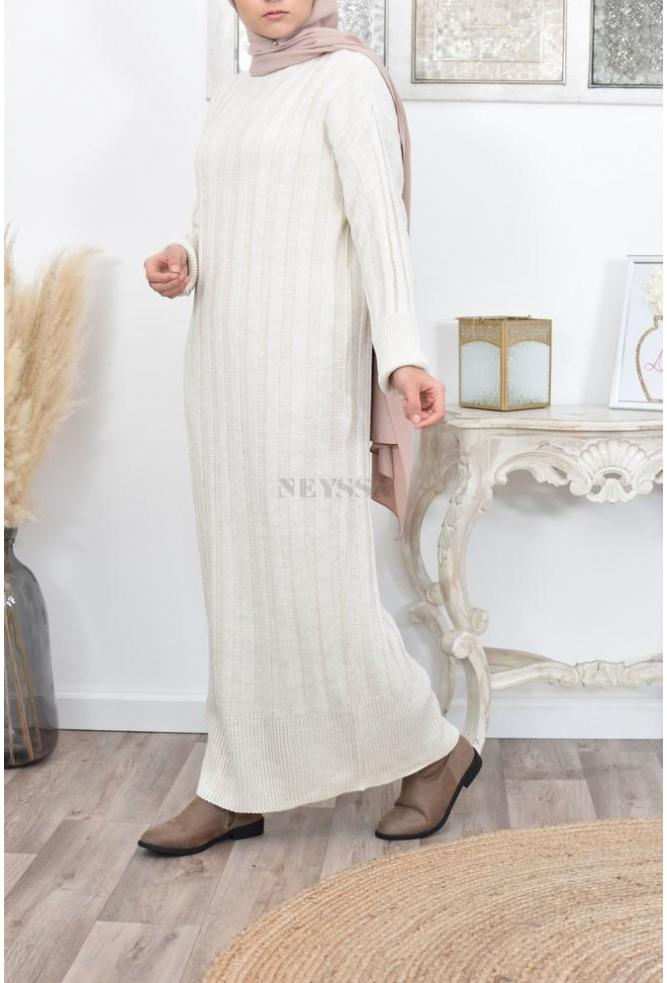 acheter Robe longue Pull hijab