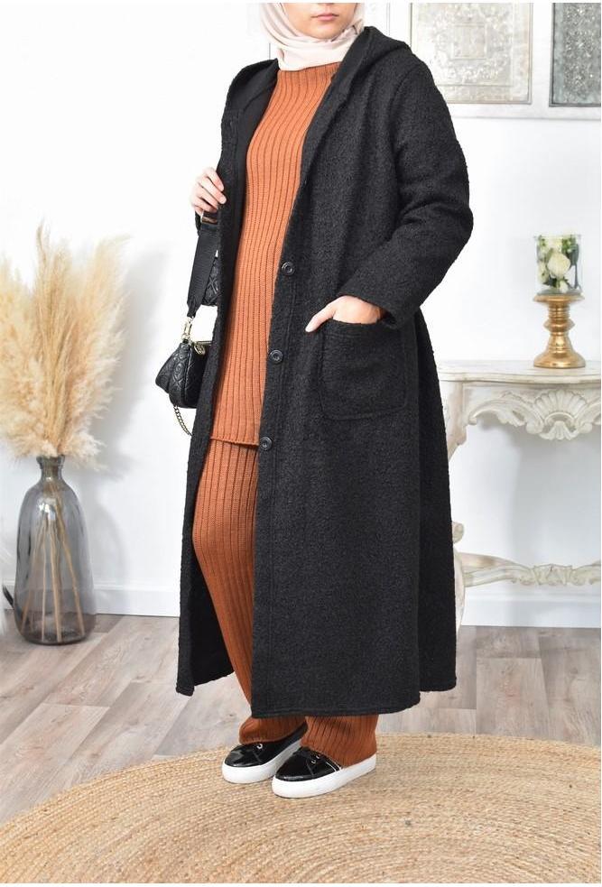 Manteau long femme musulmane