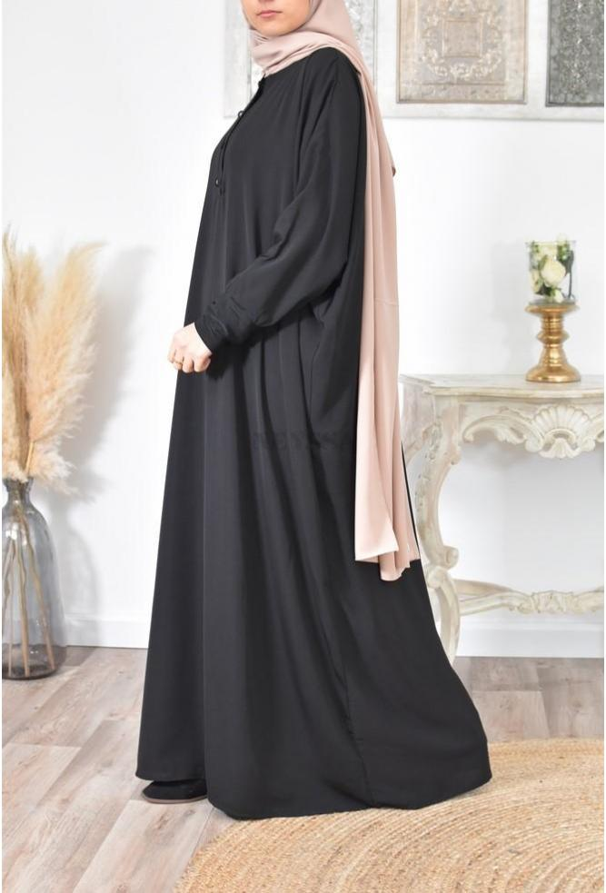 Abaya papillon femme voilée