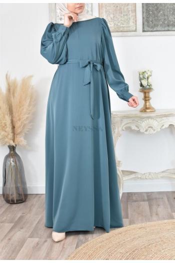 26 Tailles 36 Robe longue en jersey tsigane pour femme