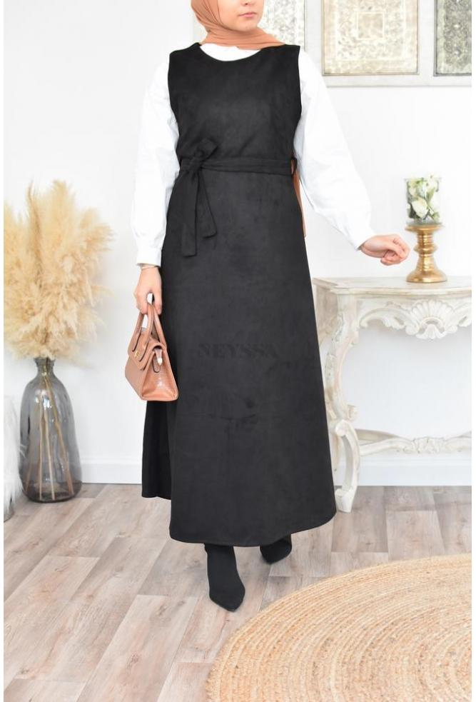 Long Dress synthetic leather