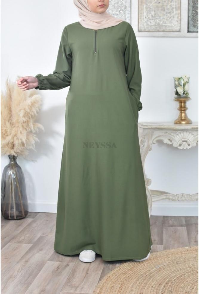 long Abaya dress Dulux