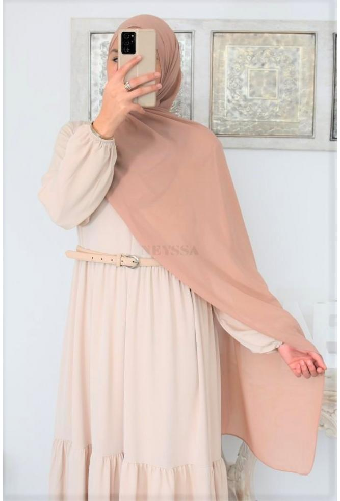 Maxi hijab modest fashion