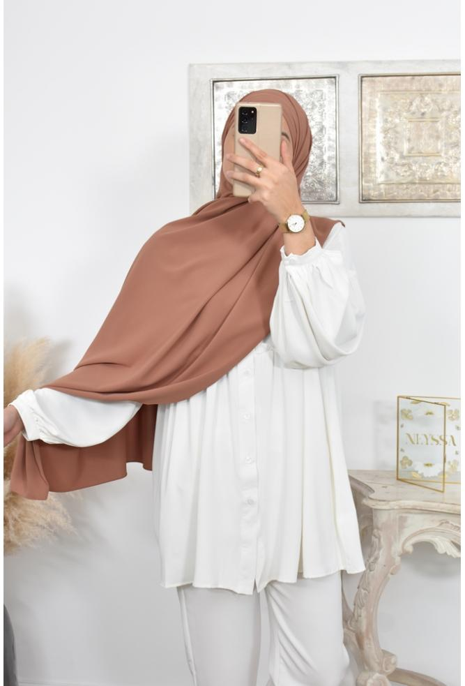 Threading Hijab Cheap Medina Silk