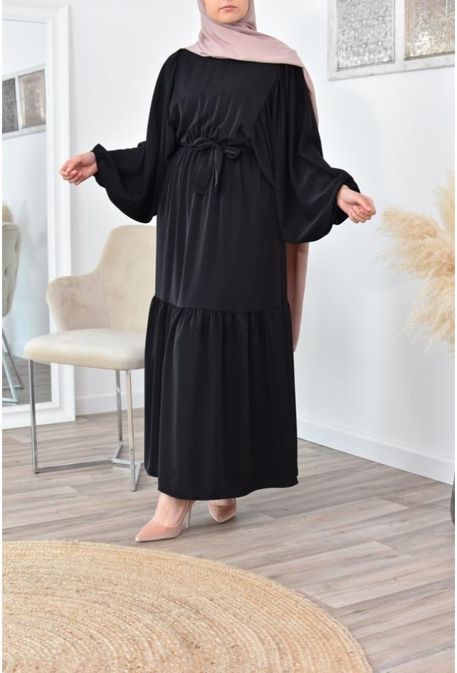 Robe longue bohème fluide pas cher