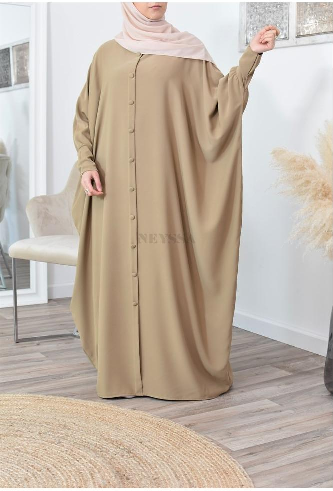 Abaya papillon saoudienne pas cher