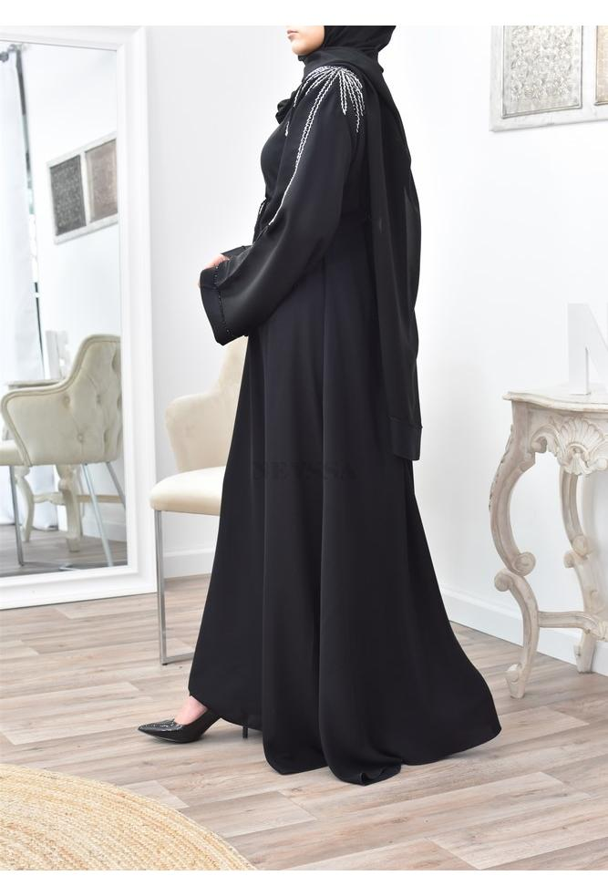 Dubaï Abaya long and embroidered for Eid 2021