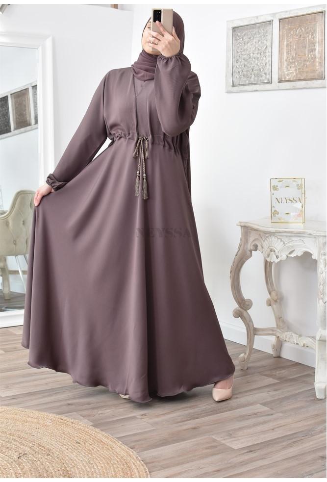 best abaya woman flared fluid with hijab