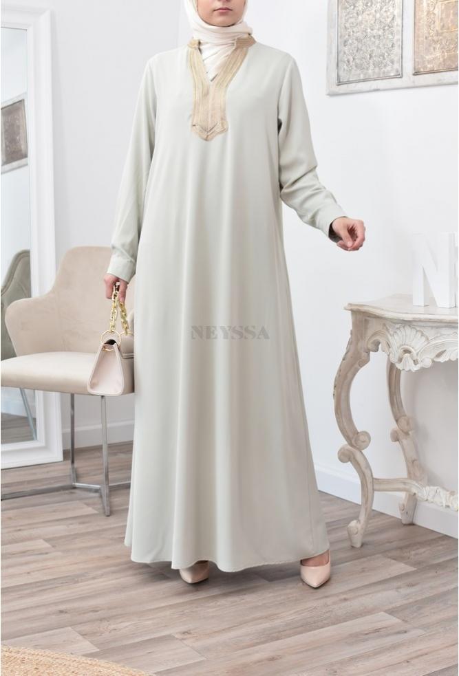 Long dress Abaya woman sfifa