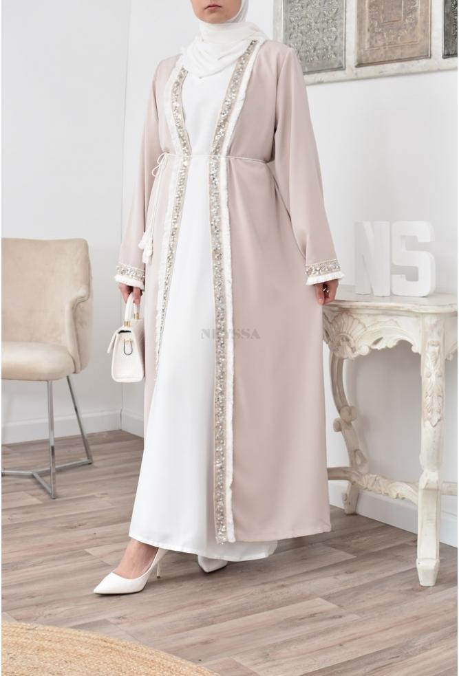 Kimono long femme musulmane Aïd Ramadan