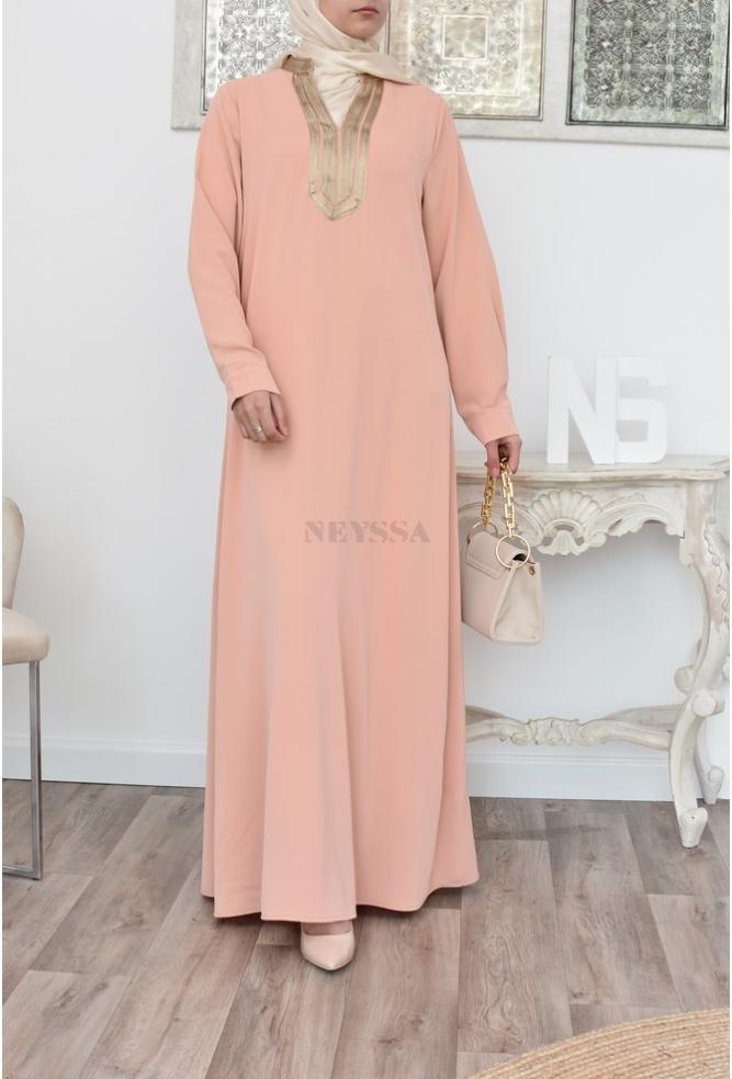 Abaya langes Kleid Frau sfifa
