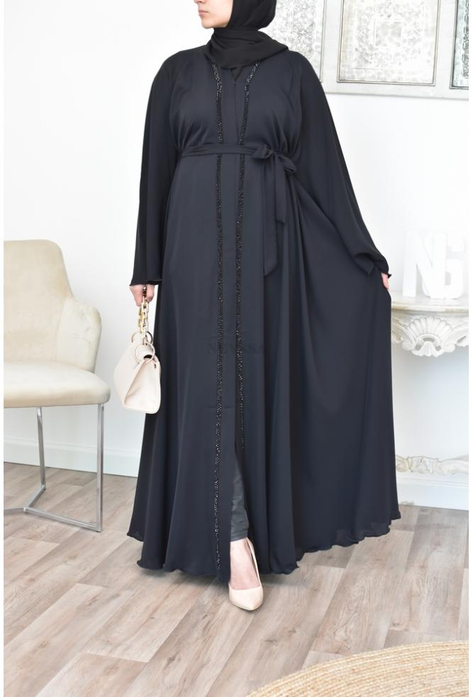 Abaya Dubai Long for veiled women