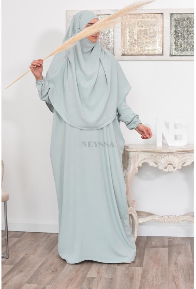 Abaya avec khimar pas cher