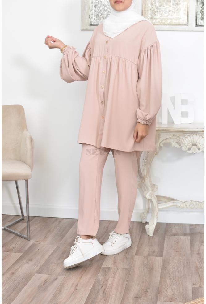 Muslim Mode bescheiden Set