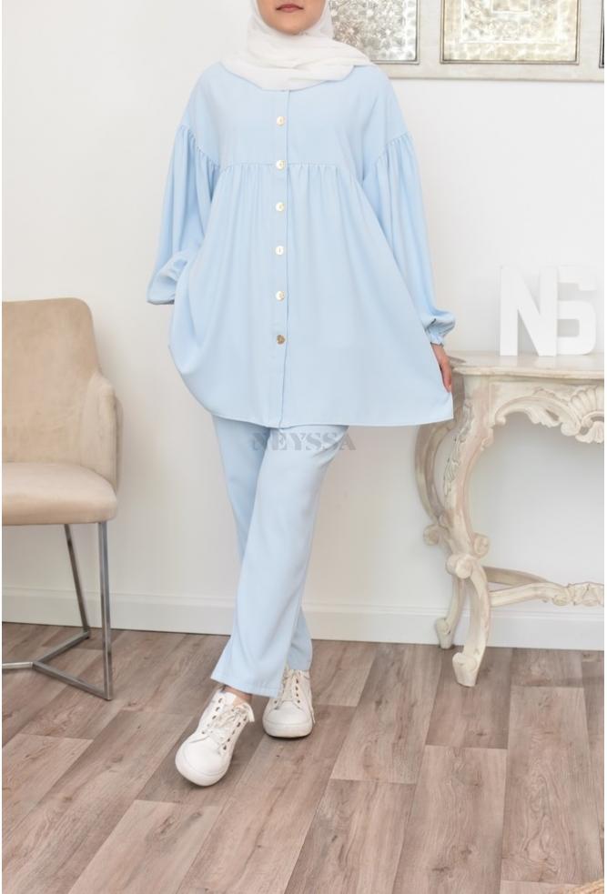 Ensemble modest fashion mode musulmane
