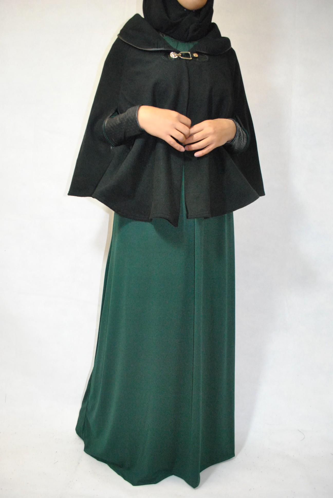 Manteau long femme hijab