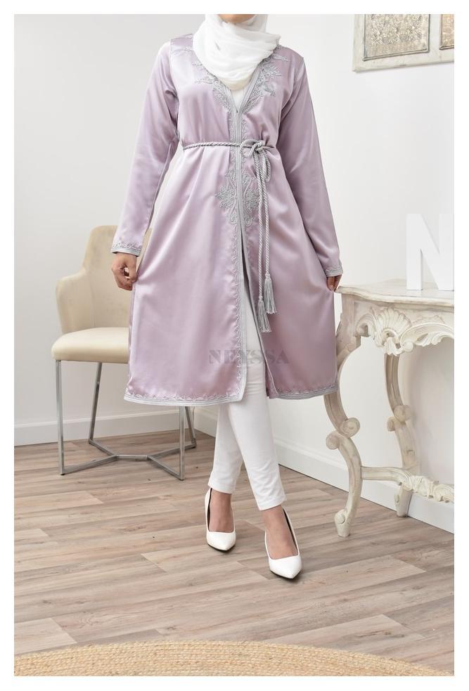 Kimono caftan Tétouan parfait pour la femme musulmane