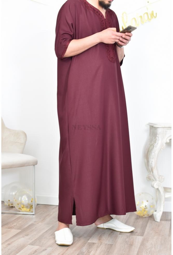 Abaya Gandoura Man mastoura perfect for Eid