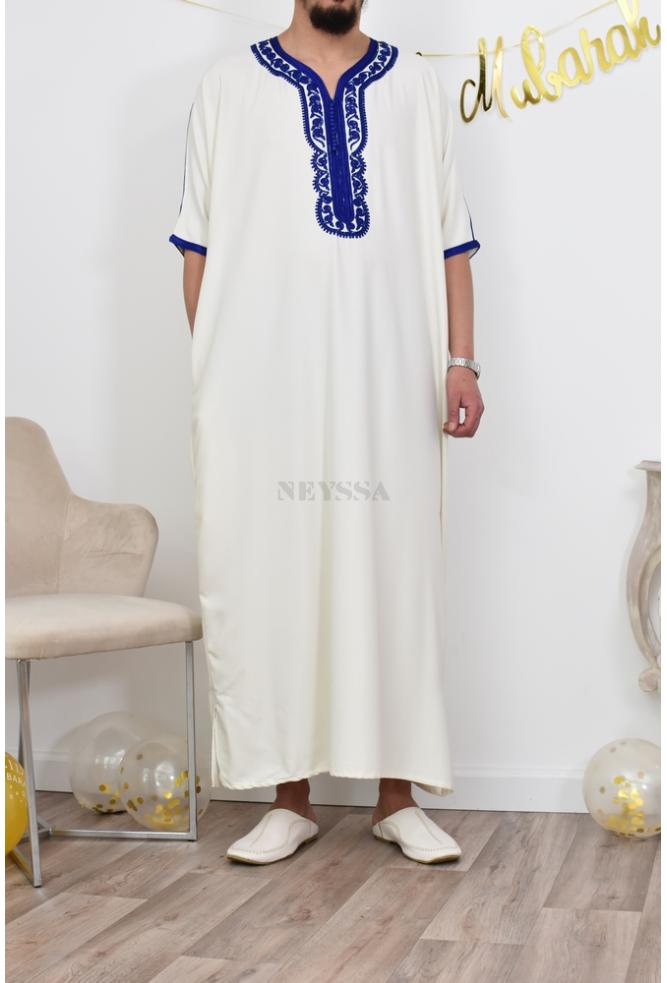 Abaya Gandoura Mann chic Eid Outfit