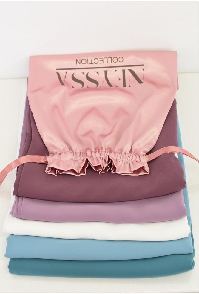Bag SPRING 5 Silk hijab Blush from Medina