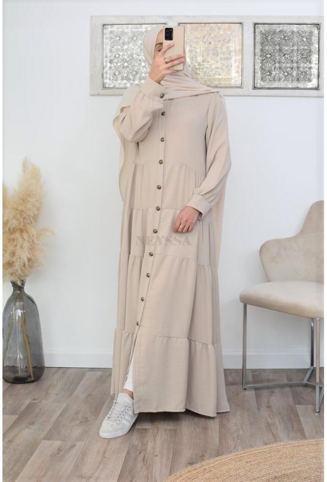 Robe longue modest bohème pas cher
