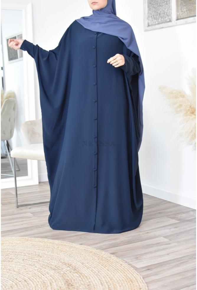 Abaya papillon pour femme grande taille de 1m80 mastour et élégant