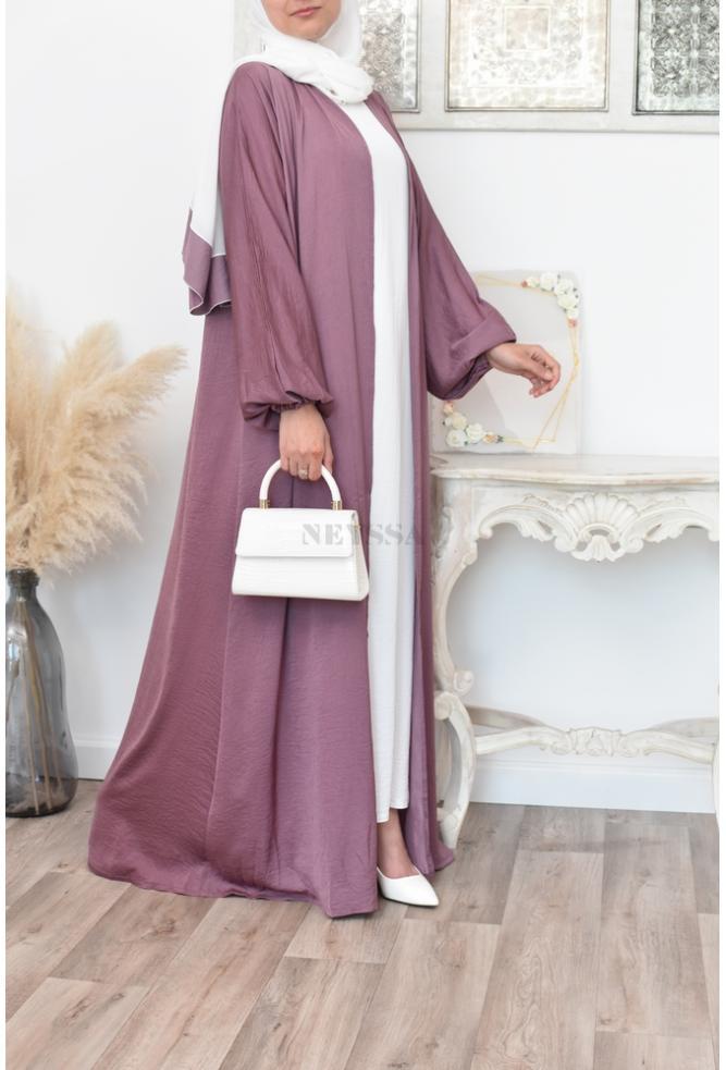 abaya kimono moderne Dubaï