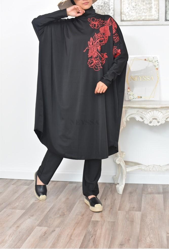 Burkini papillon le maillot de bain parfait de la femme musulmane