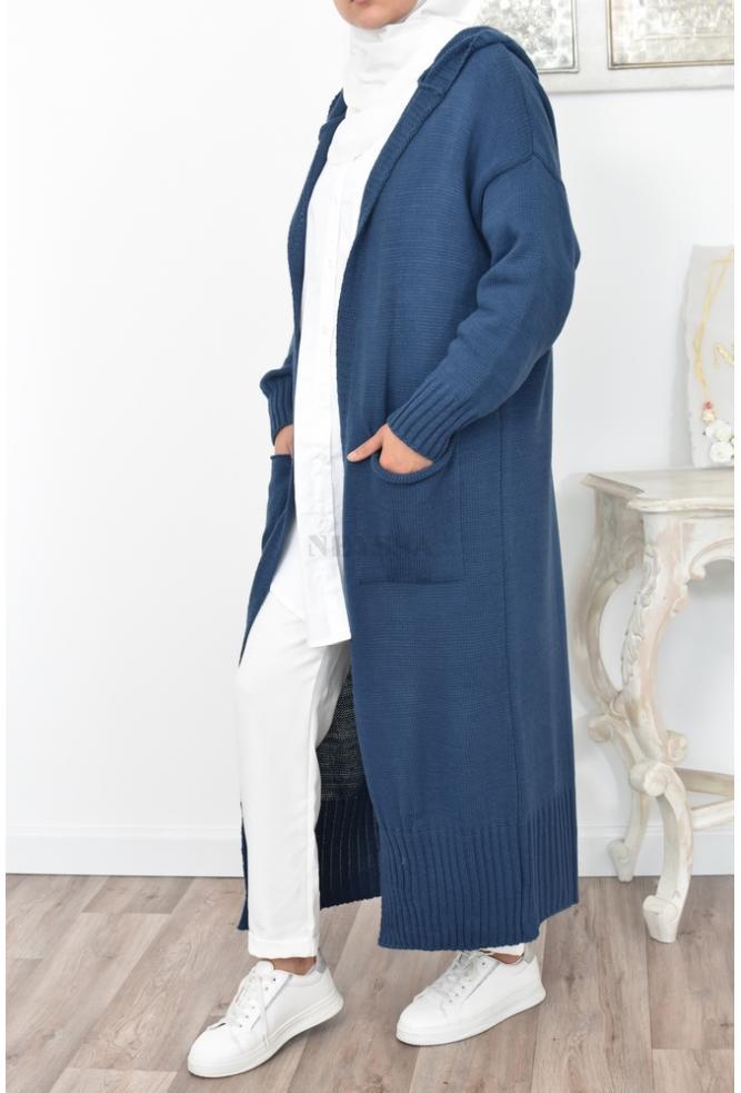 Norâh hooded cardigan