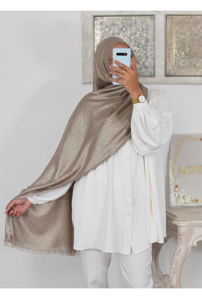 Hijab pashmina maxi Festif