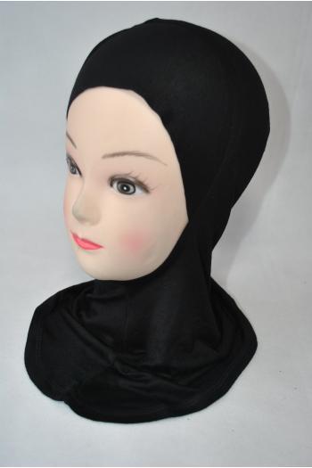 under scarf hood