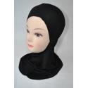 Cagoule sous hijab