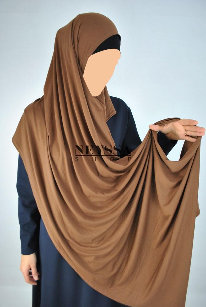 hijab pas cher à enfiler sans épingles