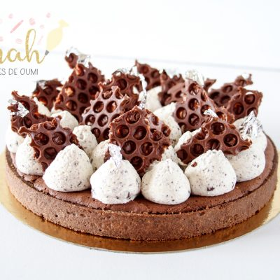 Délicieuse tarte au fondant chocolat!