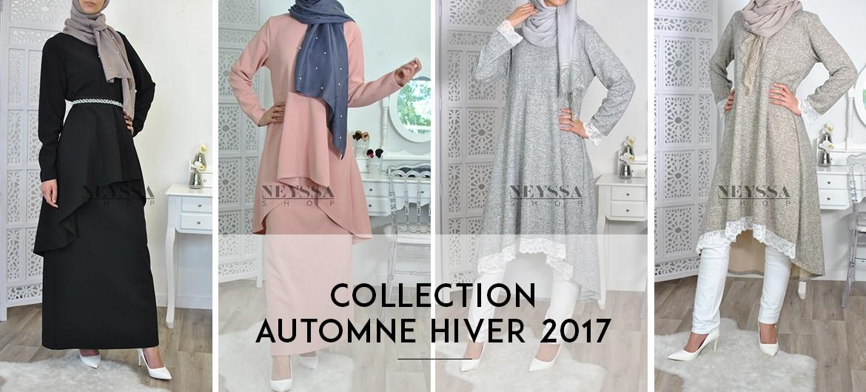 Prêt-à-porter Automne Hiver de la femme musulmane