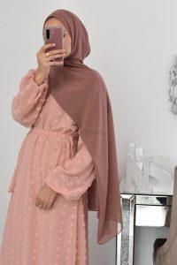 Hijab mousseline pas cher