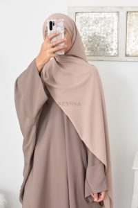 Hijab soie de Médine pas cher