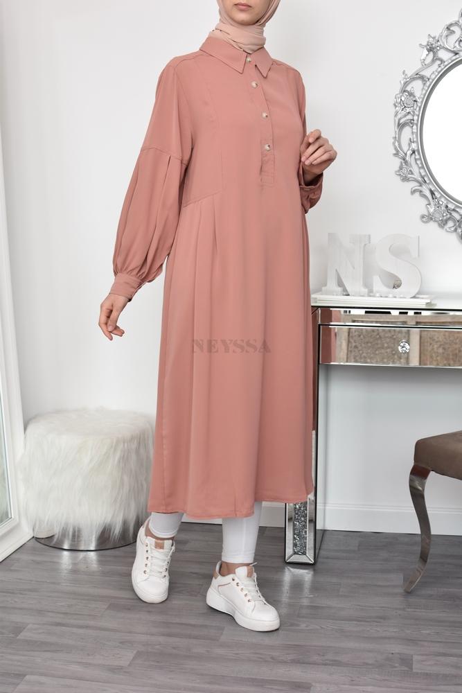 tunique grande taille femme musulmane