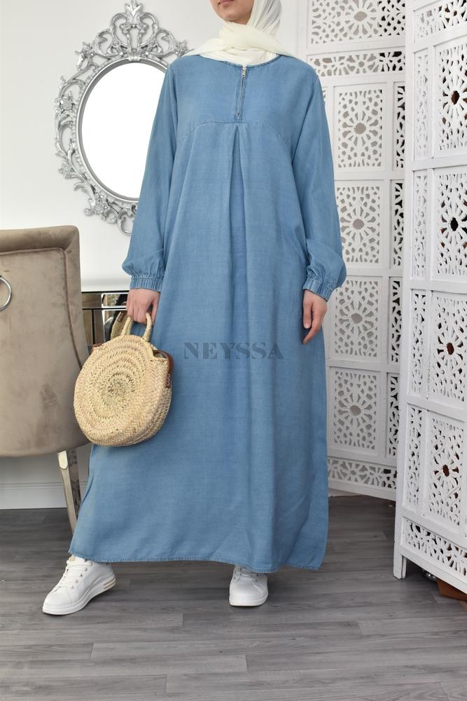 robe grande taille femme musulmane