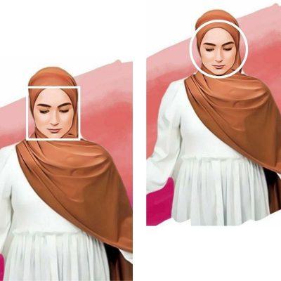 Comment porter le Hijab selon la forme du visage ?