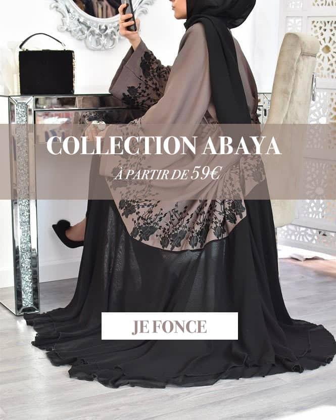 Collection abaya femme musulmane neyssa